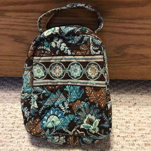 Vera Bradley Bags - Used - Retired Vera Bradley Java Blue Lunchbox